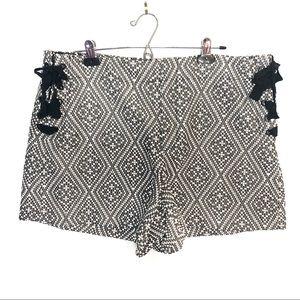 GAP Side-Tie High Waist Shorts